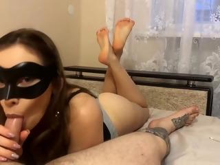 Wam Pov Blowjob From Fetish Slut Sucking Cock