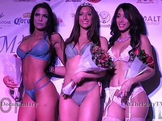 '17 Tight Ends Lingerie Contest