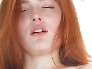 Flat redhead girl